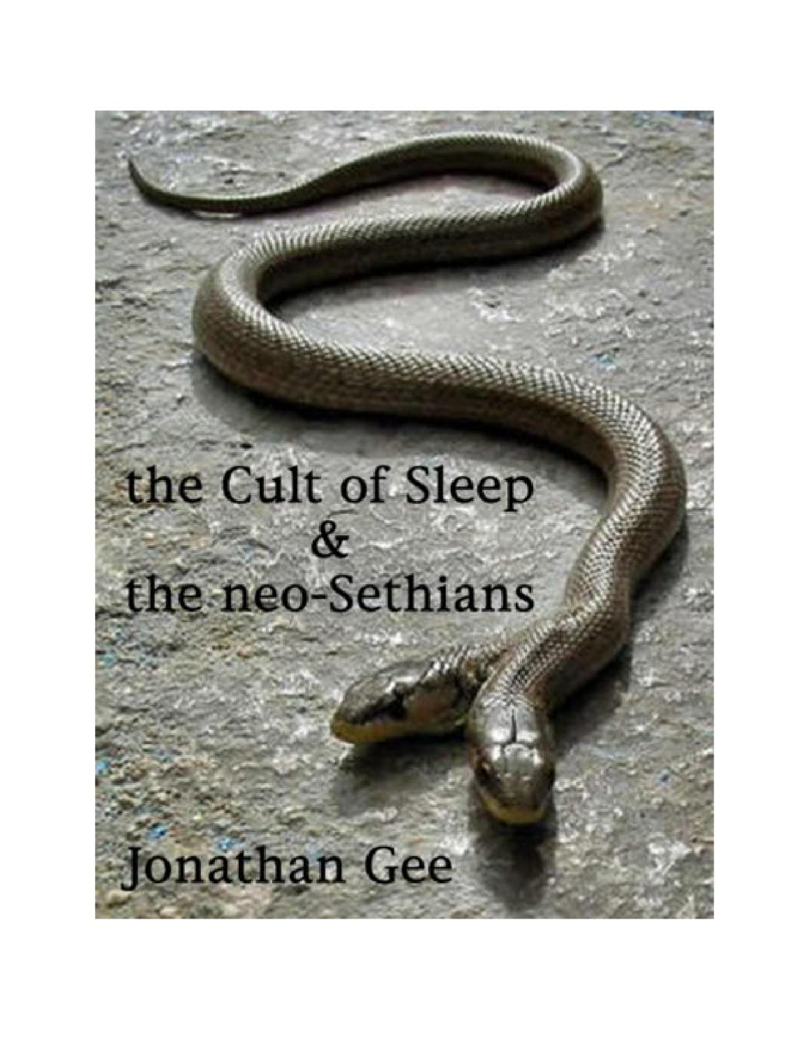 Neo-Sethians of the Order of Death by Rev Jonathan Barlow Gee - issuu
