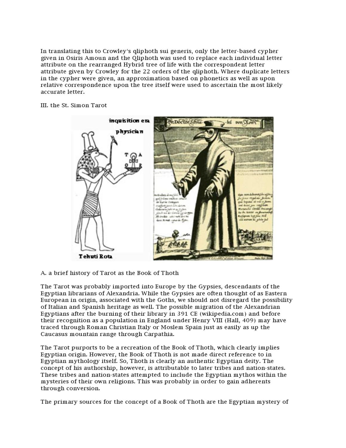 the Tree of Death and the Qliphoth by Rev Jonathan Barlow Gee - issuu