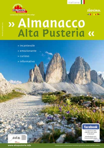 Almanacco dell\'Alta Pusteria - estate 2012 by 3 Zinnen Dolomites - issuu