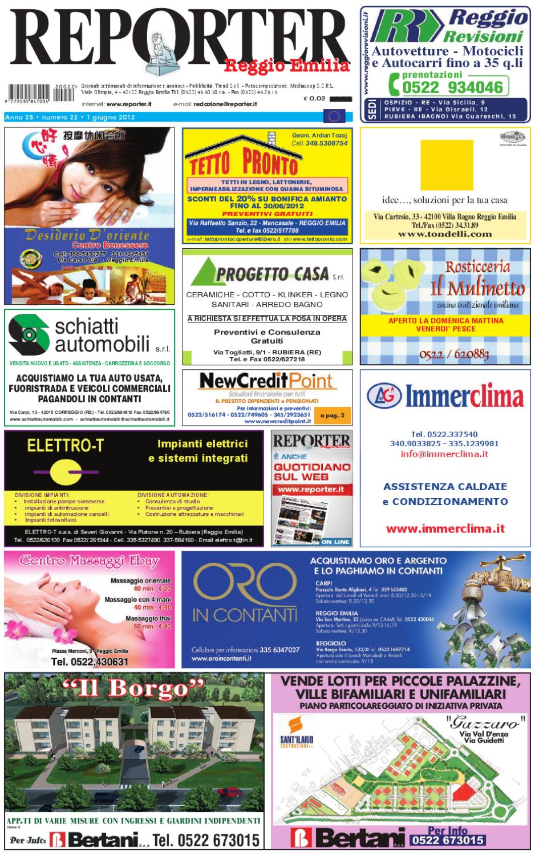 52f5b4db31 Reporter Annunci 01 giugno 2012 by Reporter - issuu
