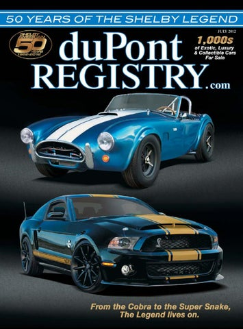 Dupontregistry autos july 2012 by dupont registry issuu page 1 fandeluxe Choice Image