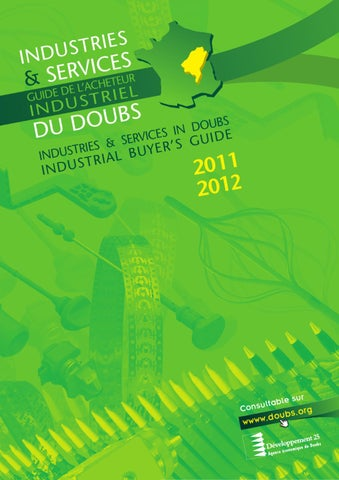 Industries Et Services Du Doubs By Développement 25 Issuu