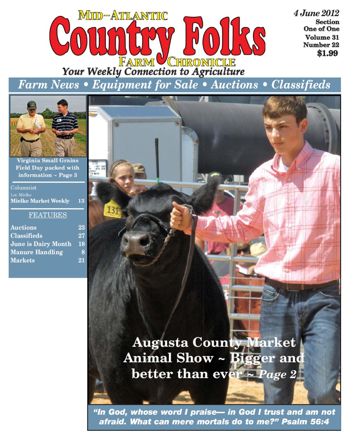 Country Folks Mid-Atlantic 6.4.12 by Lee Publications - issuu