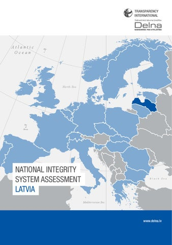 National Integrity System Assessment Latvia
