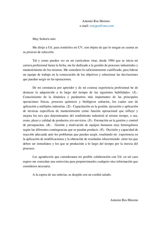 CURRICULUM VITAE.- A.Ros (Ingeniería Metalúrgica & Química) by ...