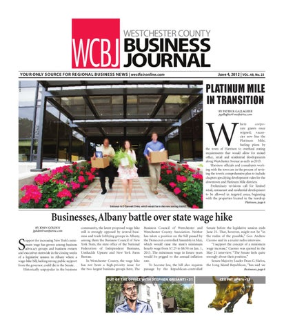 Westchester County Business Journal 06 18 12 Issue By Wag Magazine