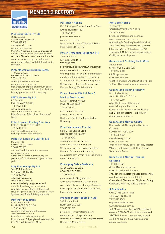 Marine Directory 2012