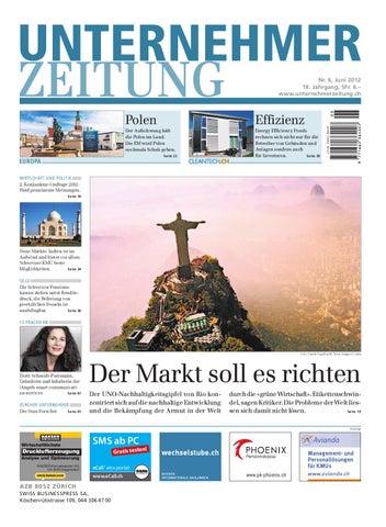 UnternehmerZeitung_6_2012 by SWISS BUSINESSPRESS - issuu