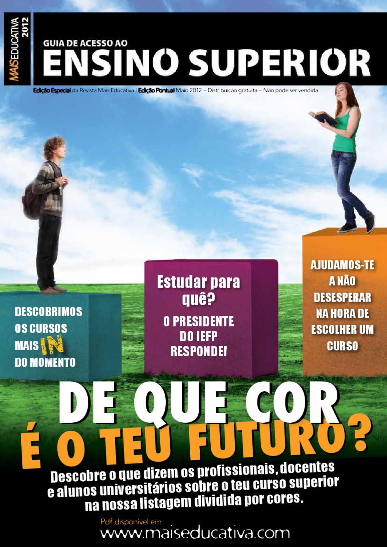 Guia de Acesso ao Ensino Superior  12 by Young Direct Media - issuu 01ba788d4b9d6