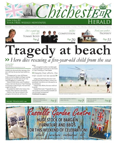 Chichester herald issue 39 1st june 2012 by chichester herald issuu page 1 malvernweather Gallery