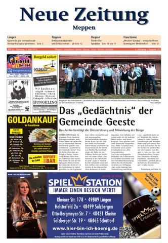 Neue Zeitung Ausgabe Meppen Kw 22 2012 By Gerhard Verlag Gmbh Issuu