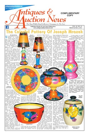 Antique U0026 Auction News 060812 By Antiques U0026 Auction News   Issuu