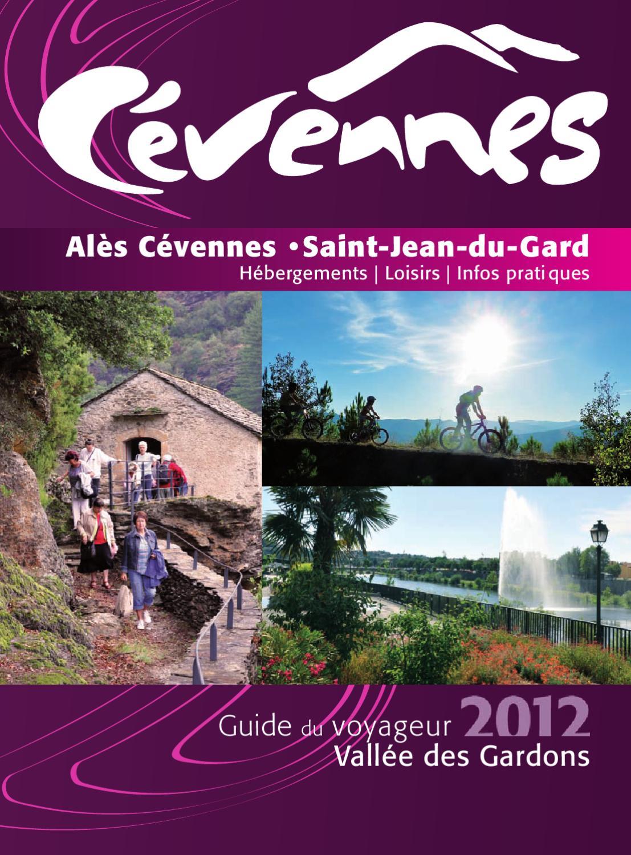 Guide du voyageur 2012 by grand al s issuu - Office de tourisme saint jean du gard ...