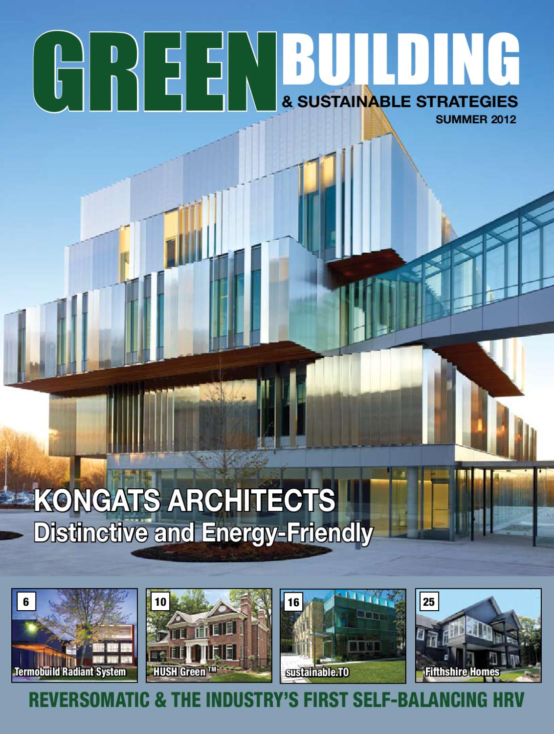 GB & SS Magazine - June 2012 by Green Building and Sustainable ...