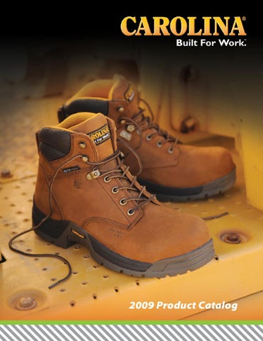 708062899c38 2009 Carolina Footwear Catalog by H.H. Brown Work   Outdoor Group ...