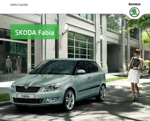 skoda fabia 2012 by hekla ehf issuu. Black Bedroom Furniture Sets. Home Design Ideas