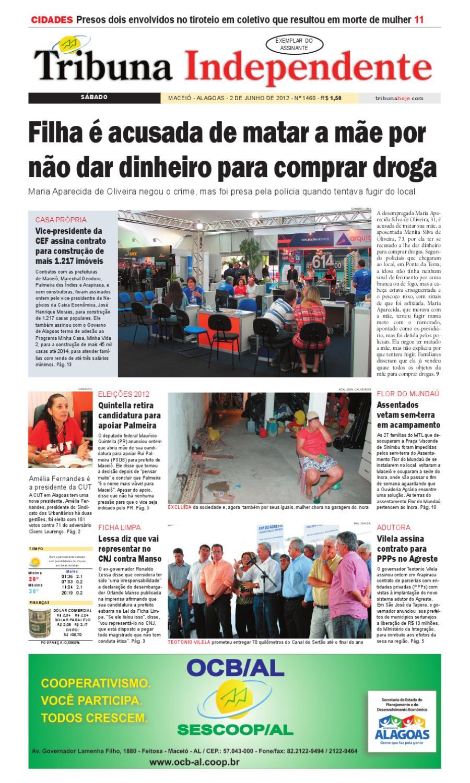 76f0d070a Edição número 1460 - 2 de junho de 2012 by Tribuna Hoje - issuu