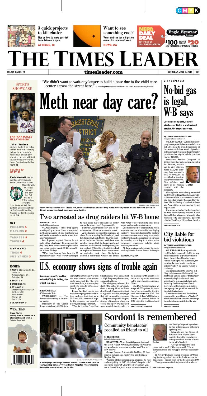 Times Leader 06-02-2012 by The Wilkes-Barre Publishing Company - issuu 01cf40fed