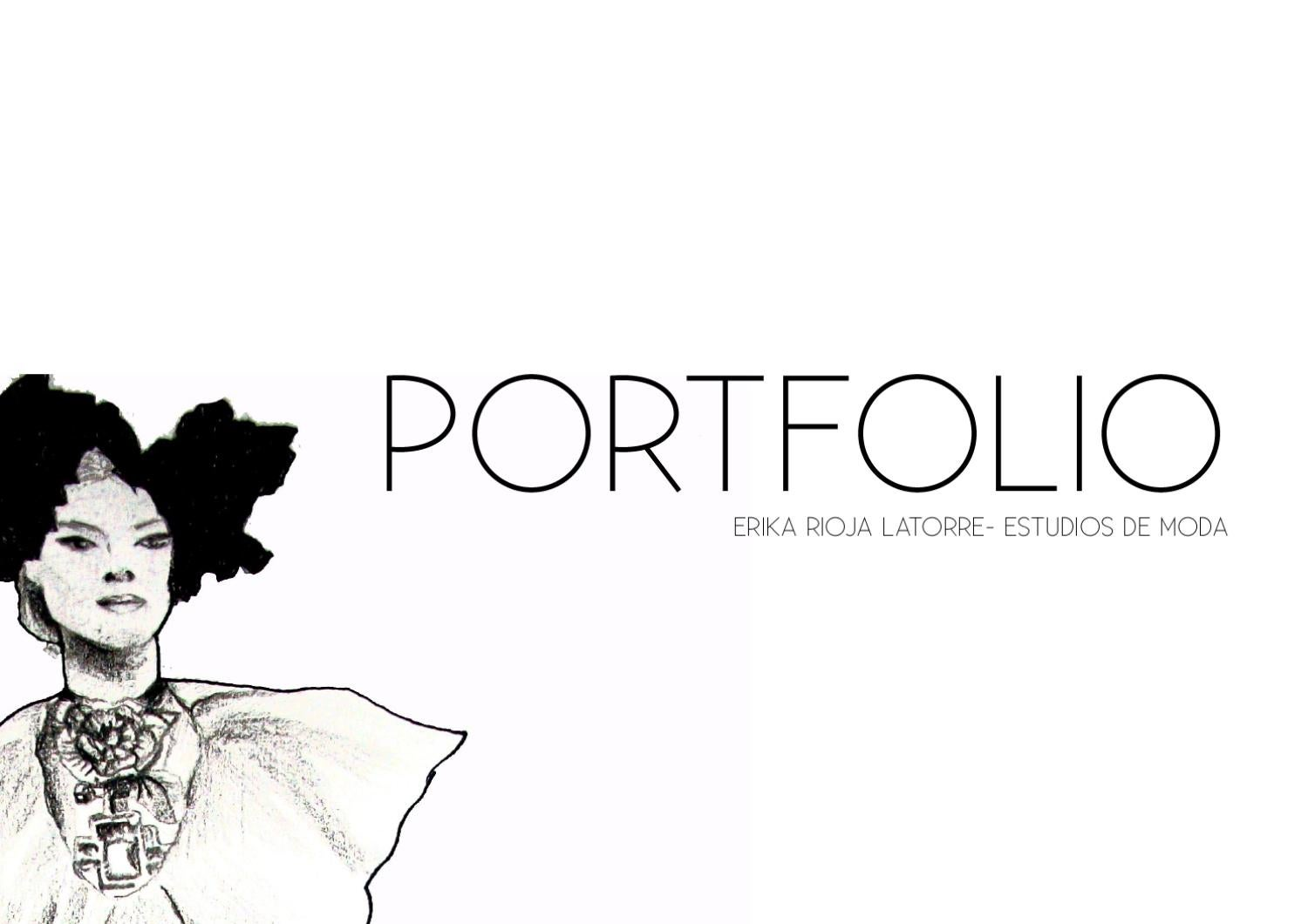 Portfolio by Erika Rioja - issuu