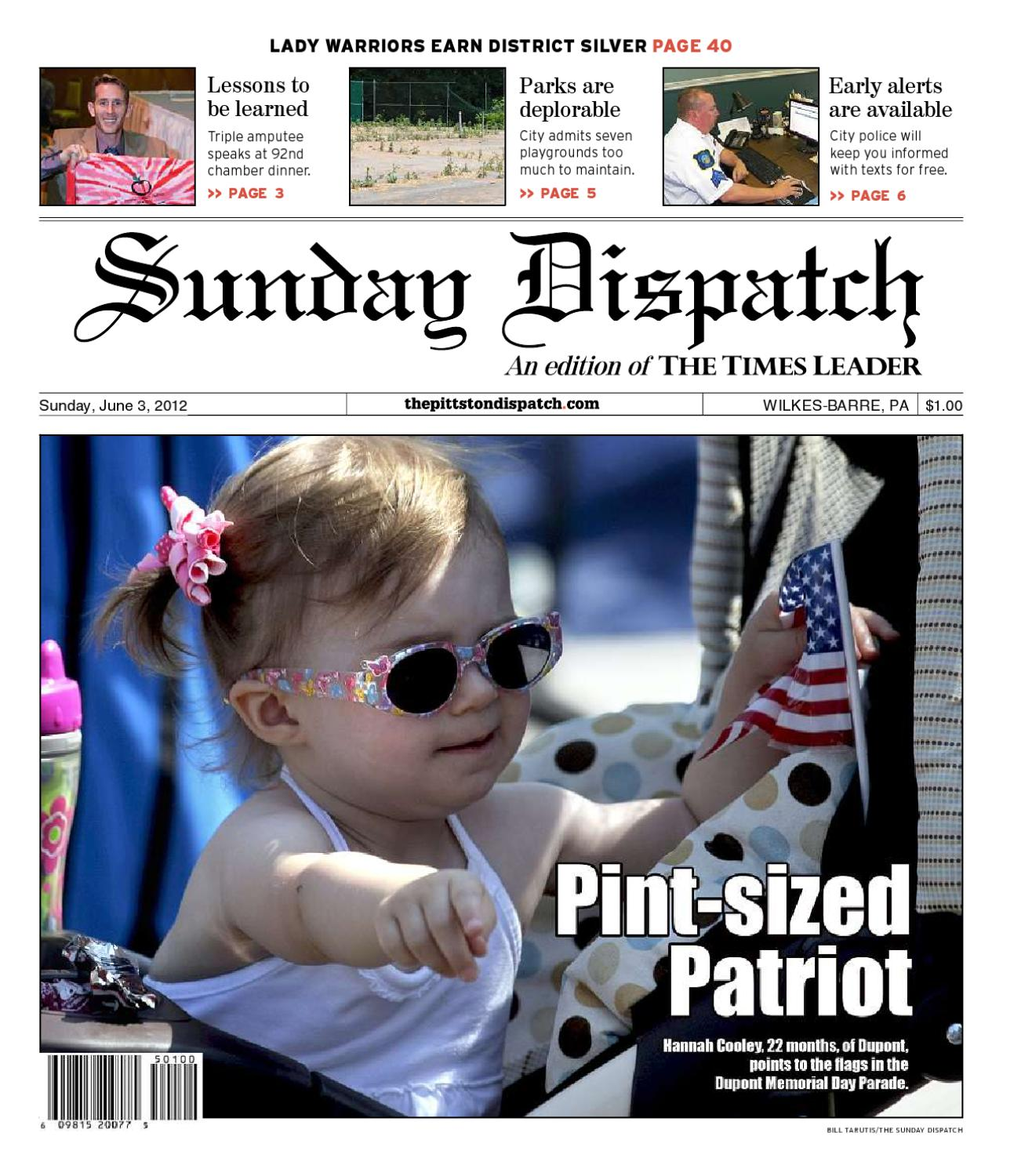 51e06fe71d The Pittston Dispatch 06-03-2012 by The Wilkes-Barre Publishing Company -  issuu