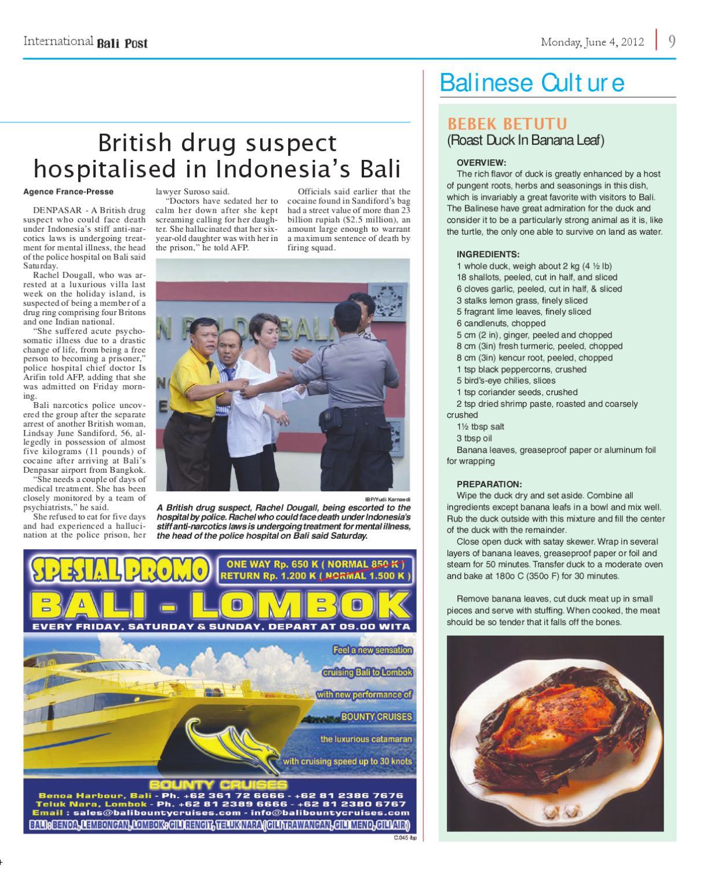 Edisi 4 Juni 2012 | International Bali Post by e-Paper KMB