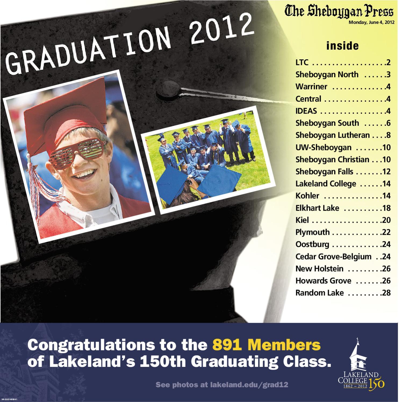 Sheboygan Graduation 2012 By Gannett Wisconsin Media Issuu