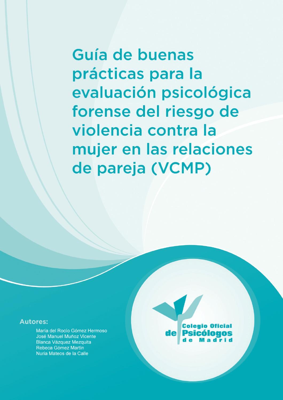 Guía evaluación psicológica forense riesgo de violencia contra la ...