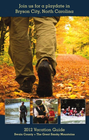 Swain County Visitors Guide 2012 By Smoky Mountain News Issuu