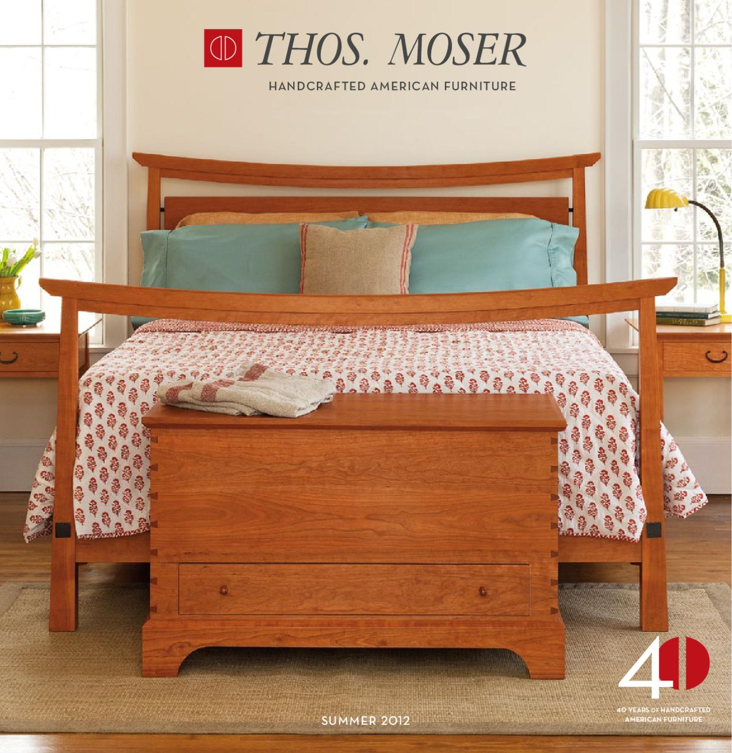 Thos. Moser JUNE 2012 Catalog By Thos. Moser Handmade