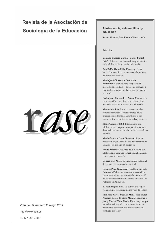 RASE: Volumen 5, número 2 by RASE - issuu
