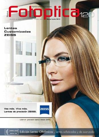6297e0fc33 Fotoptica 120. Edición Lentes Oftálmicas by Revista Fotoptica - issuu