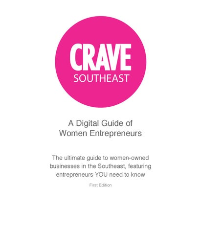 8c8649e742a CRAVE Southeast by The CRAVE Company - issuu