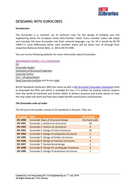 British Standards For Construction Pdf