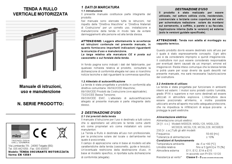 Istruzioni Montaggio Motore Tenda Da Sole.Mt001 Compresso By Digital Media Issuu
