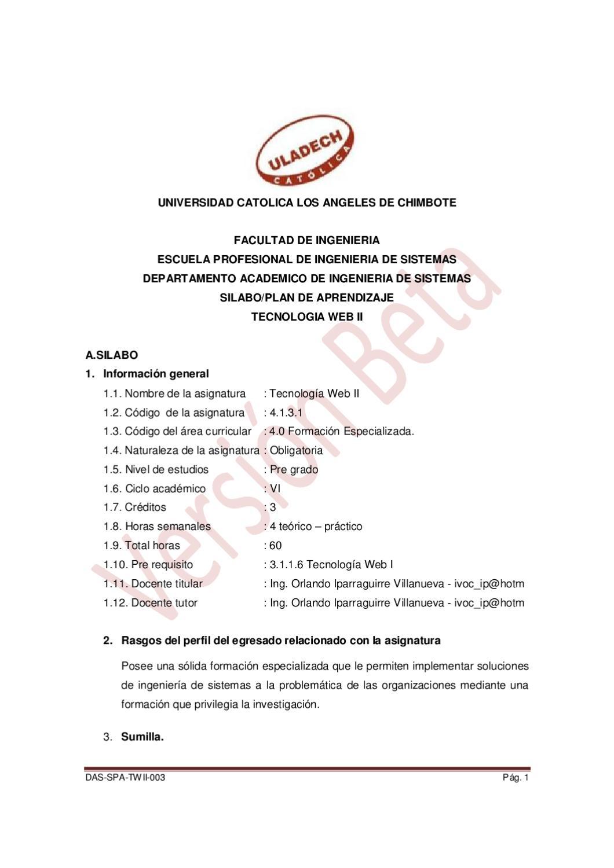 Silabo y Plan de Aprendizaje by Orlando iparraguirre - issuu