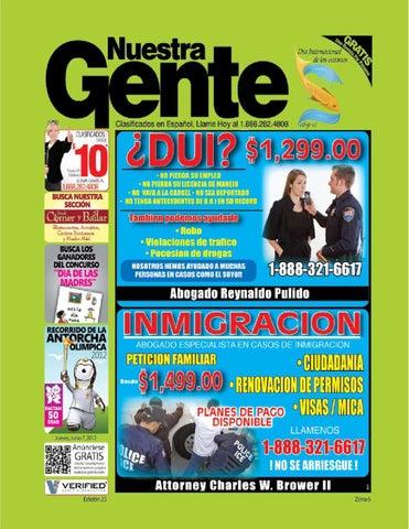 Nuestra Gente Edicion 23 Zona 6 by Nuestra Gente - issuu 2d3c9dba5419