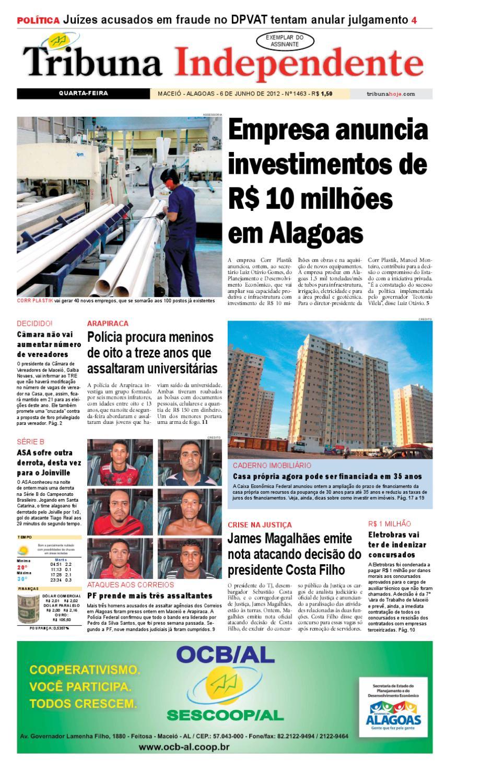 158739442 Edição número 1463 - 6 de junho de 2012 by Tribuna Hoje - issuu