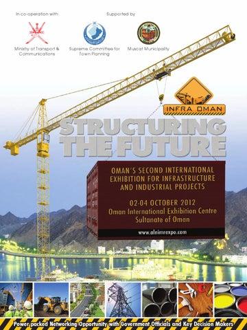 Infra Oman 2012 Brochure