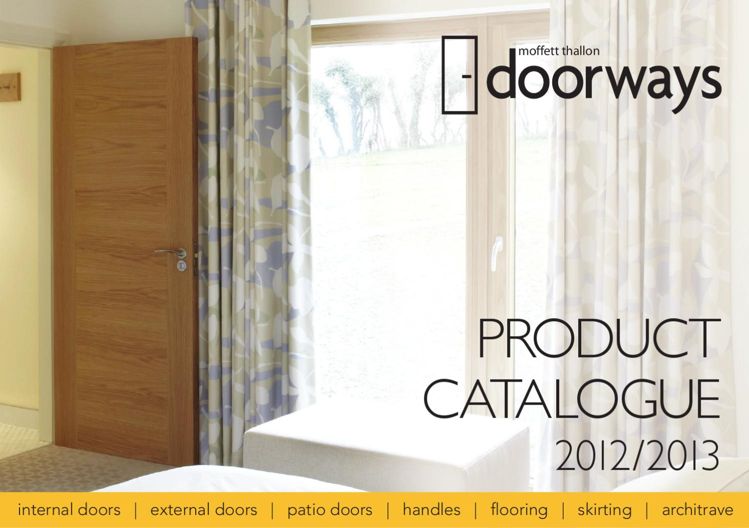 Doorways Product Catalogue 2012 2013 By Matija Boban Issuu