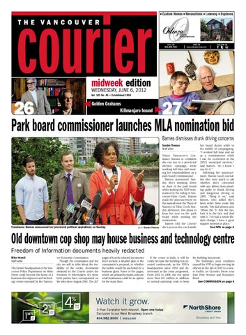 Vancouver Courier June 6 2012 by Glacier Digital - issuu 20916f82123db