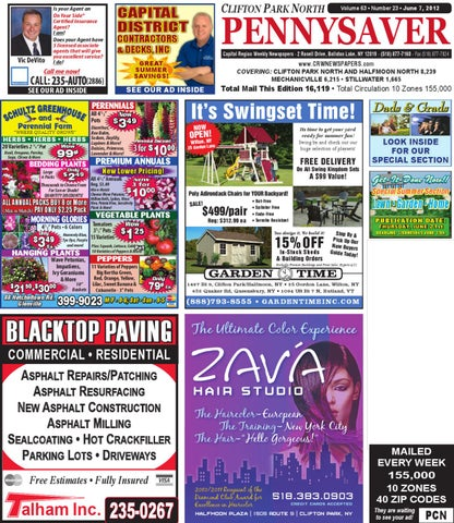 Clifton park north pennysaver 060712 by capital region weekly page 1 fandeluxe Image collections