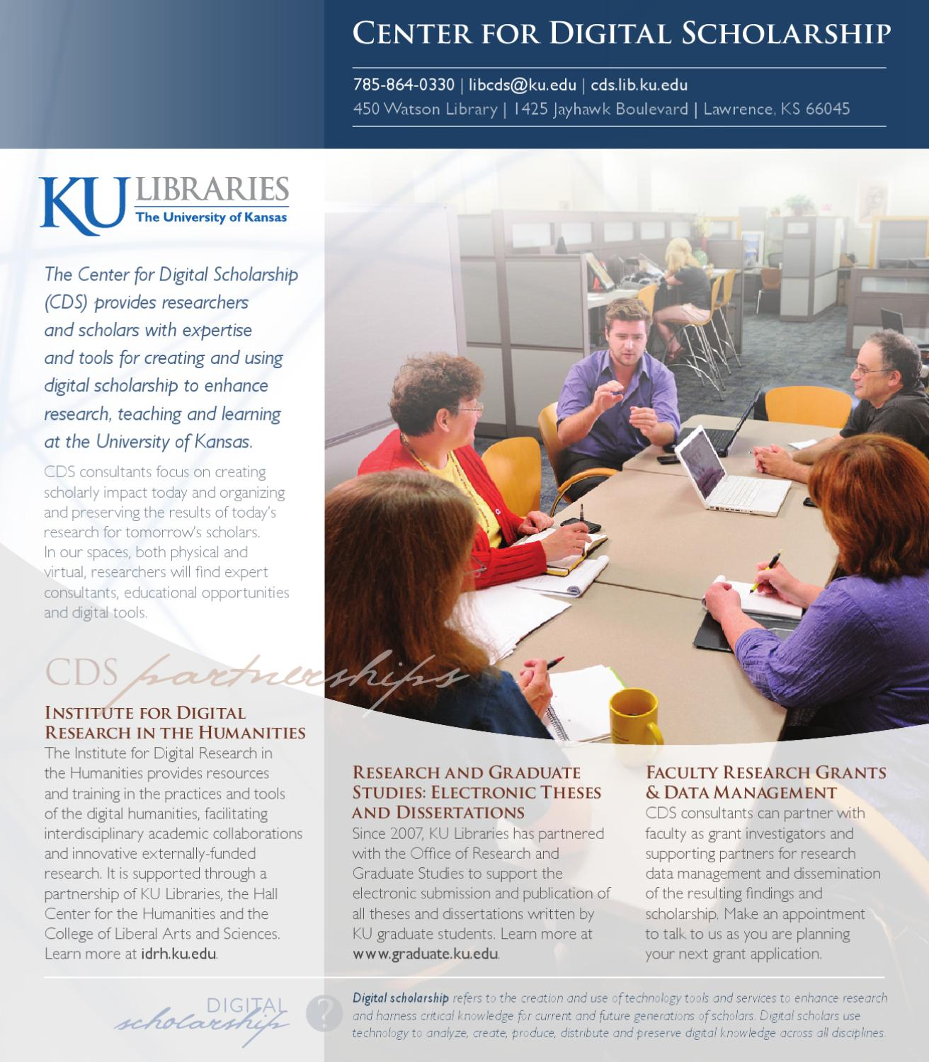 Center for Digital Scholarship insert by KU Libraries - issuu