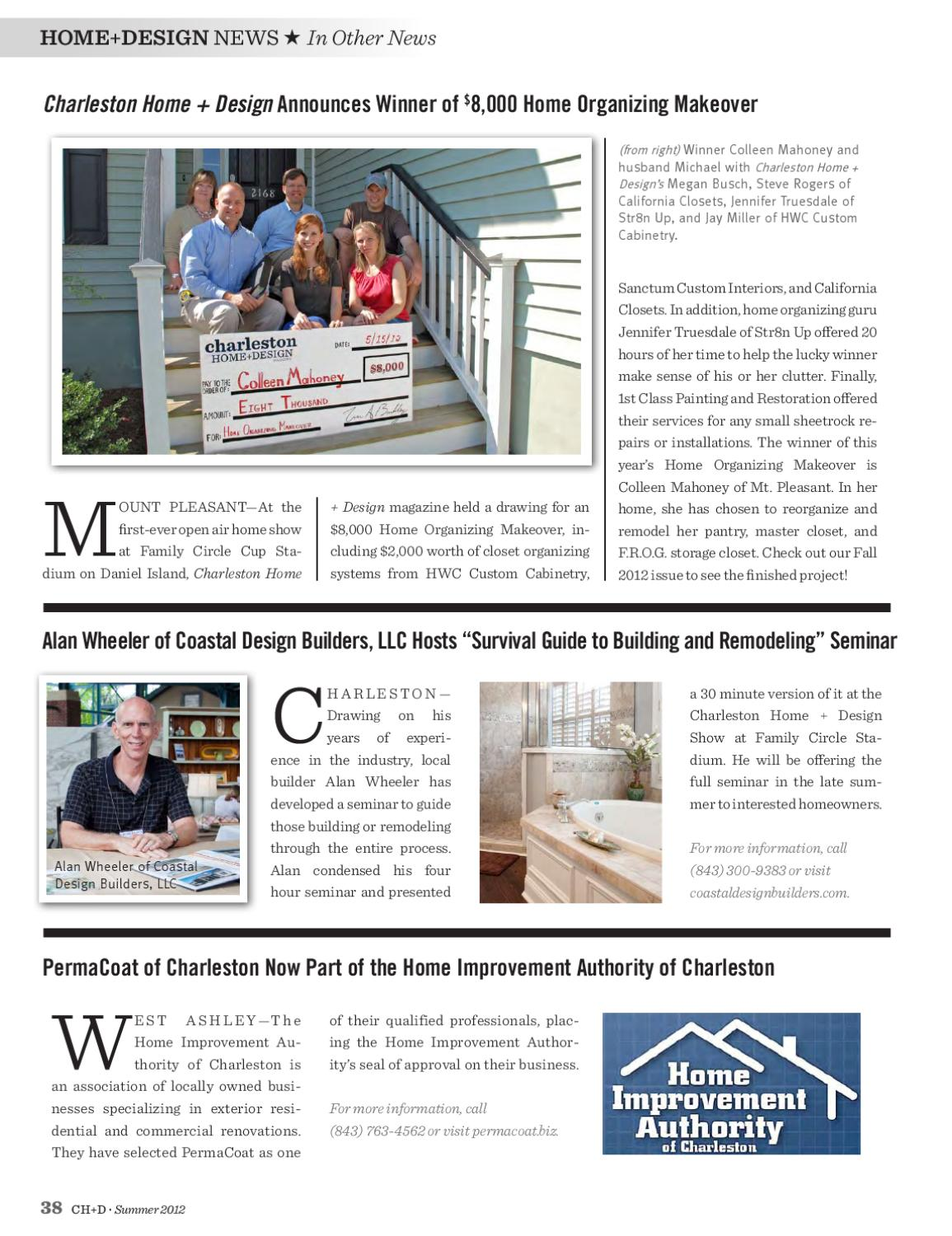 Charleston Home + Design Magazine   Summer 2012 By Charleston Home And  Design Magazine   Issuu