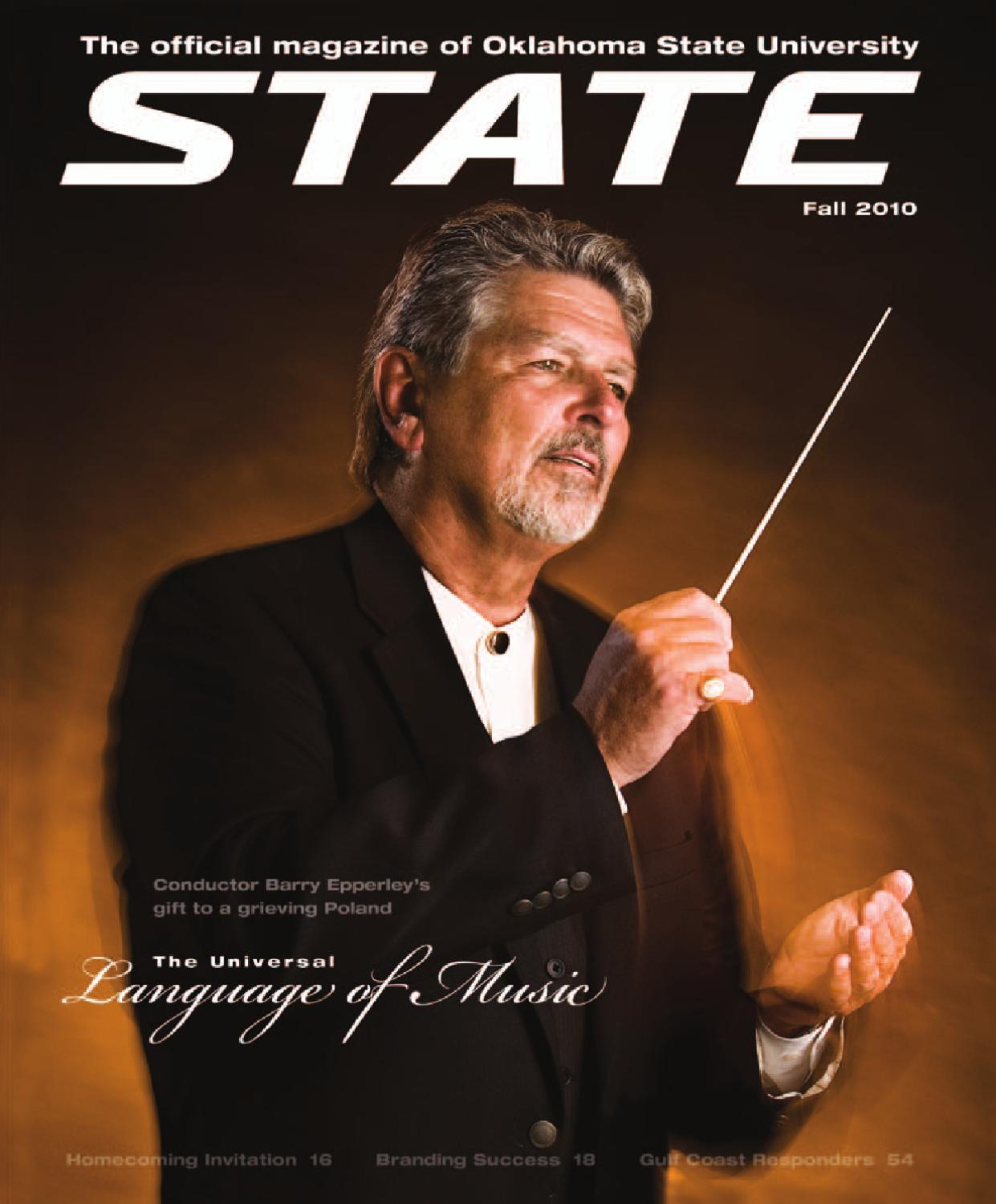 STATE Magazine, Fall 2010 by Oklahoma State - issuu