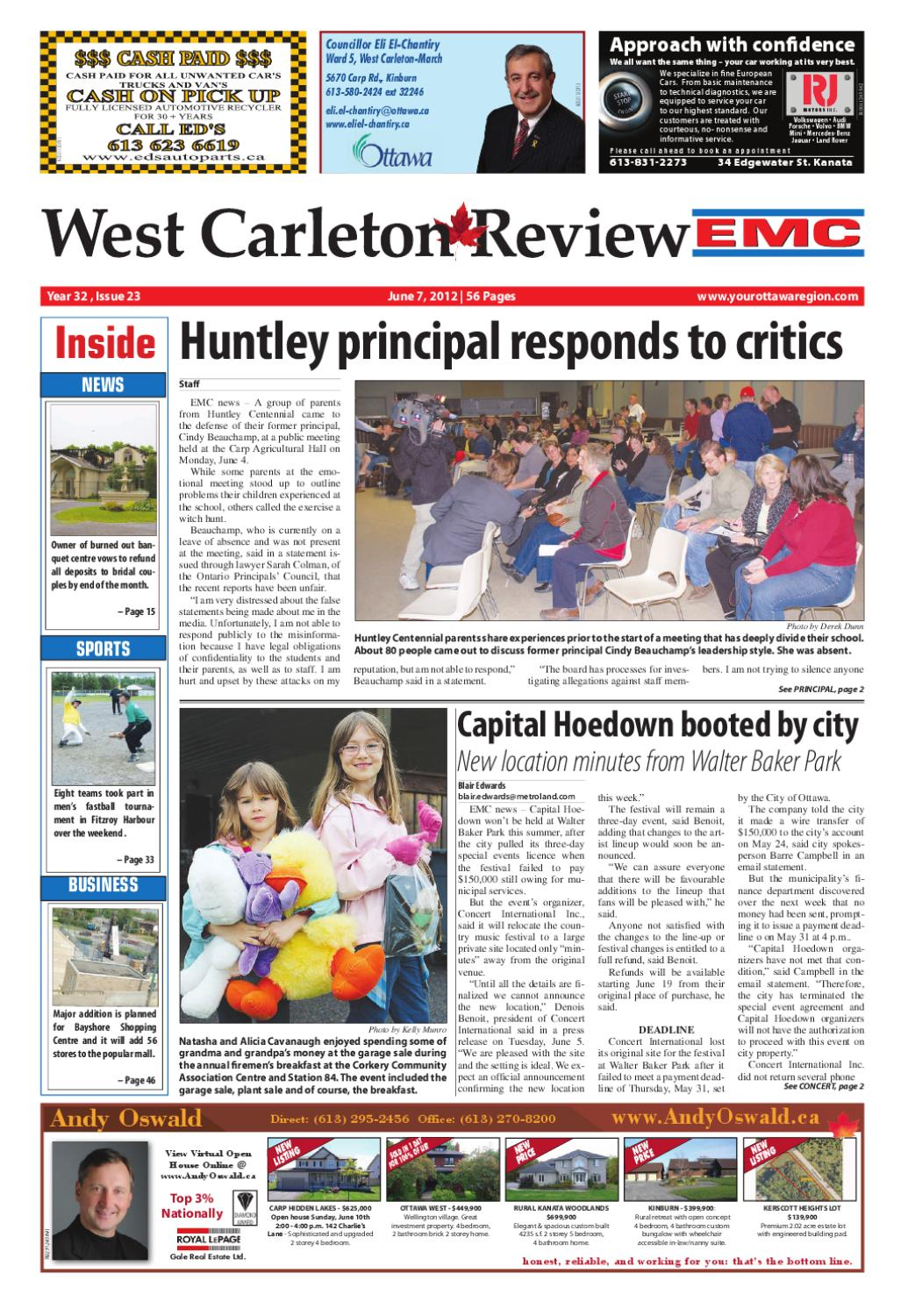 09561e9eab West Carleton Review E C by Metroland East - West Carleton Review - issuu
