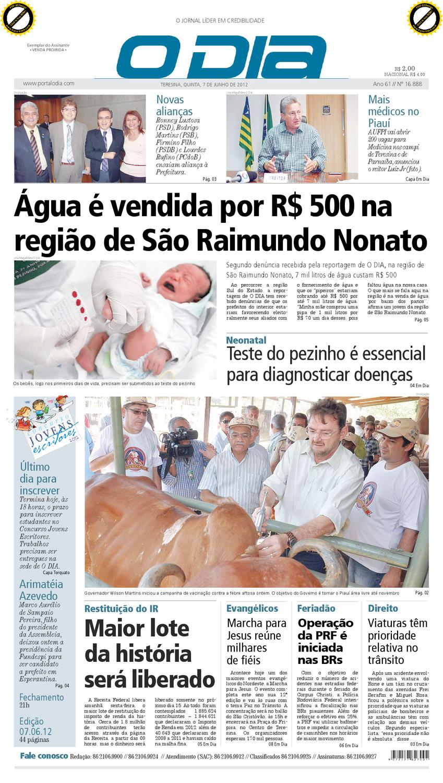JORNAL O DIA by Jornal O Dia - issuu 474ef89b534c6