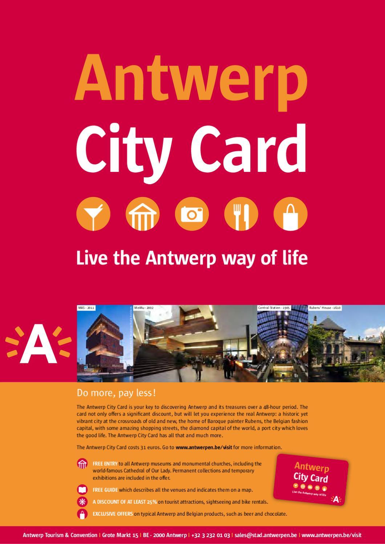 Antwerp City of Art by Visit Antwerpen issuu