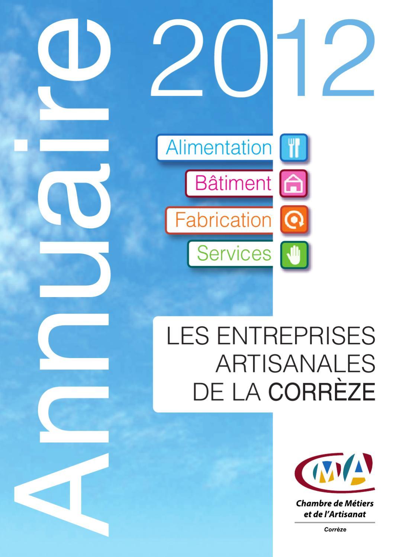 Annuaire de l 39 artisanat 2012 by chambre de m tiers et de l - Chambre de metiers et de l artisanat du var ...