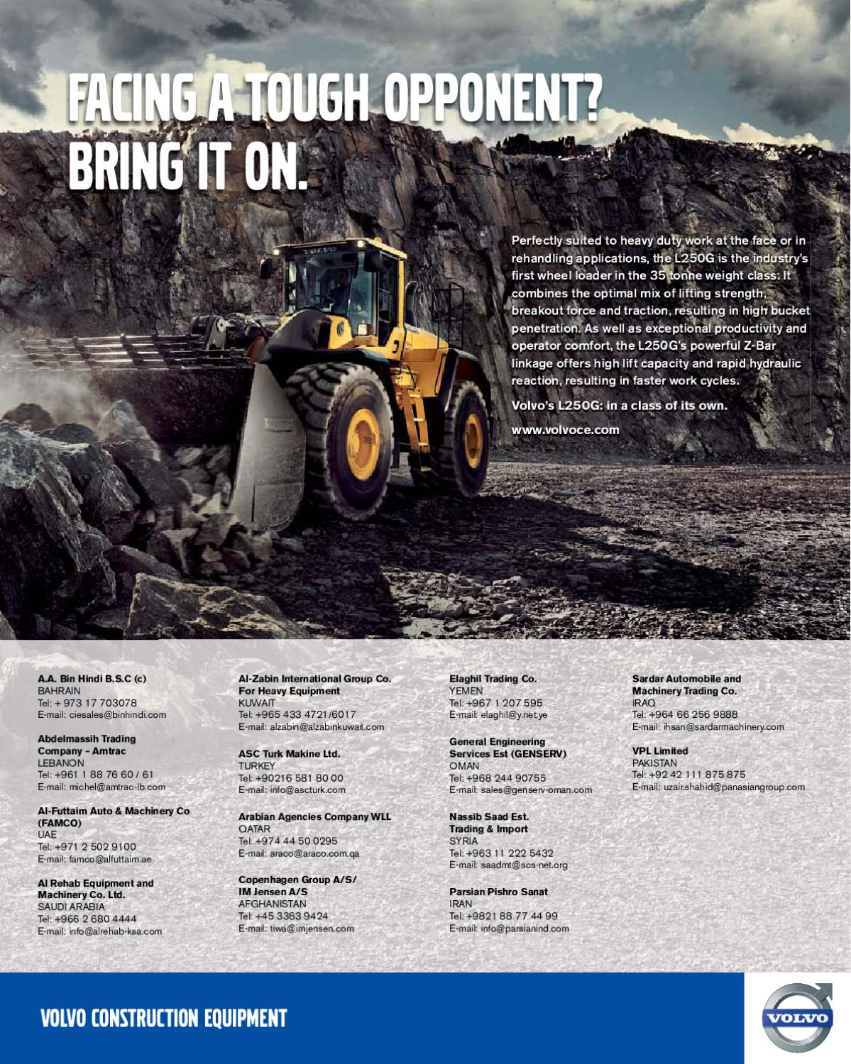 Construction Machinery Middle East by Construction Machinery
