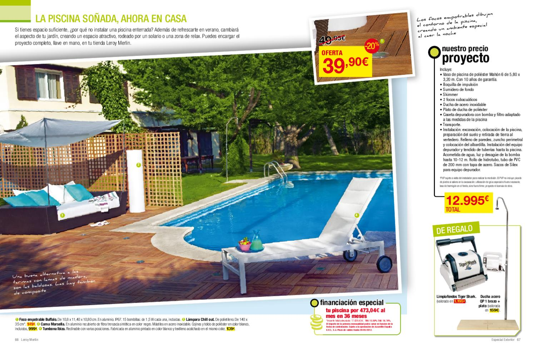 Catalogo leroy merlin jardin 2012 by - Gresite piscinas leroy merlin ...